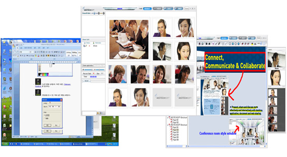 Web conferencing, Webinar, Video conferencing, Desktop Video Conferencing, e-learning, Online Collaboration, Document Sharing, Desktop Sharing, Video Web Conferencing